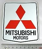 三菱ステッカー スリーダイヤ&MITSUBISHI MOTORS