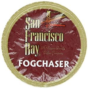 San Francisco Bay Coffee One Cup for Keurig K-Cup Brewers, Fog Chaser - 160 - Count Fog Chasers