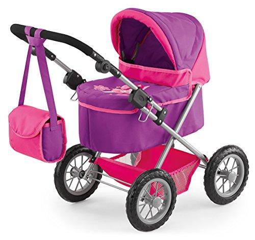bayer-design-13079-passeggino-per-bambole-trendy-colore-lilla-rosa