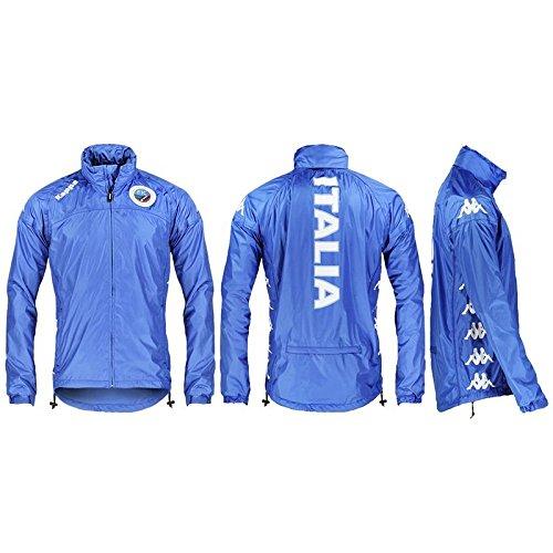 Giacca - RAIN FIC - Kappa - S - Azzurro
