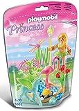 Playmobil - A1502644 - Jeu De Construction - Fée Eté Avec Poulain Aile - Vert
