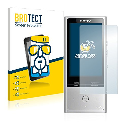 BROTECT AirGlass Protection Verre Flexible pour Sony NW-ZX100HN Film Vitre Protection Ecran - Extra Résistant, Ultra-Léger