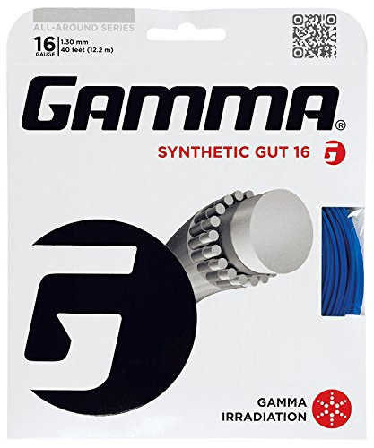 Gamma Sports Synthetic Gut Tennis String - Challenger, SynGut, SynGut w/WearGuard