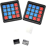 Gikfun 4 X 4 Matrix Array 16 Key Membrane Switch Keypad Keyboard For Arduino AVR PI Pack Of 2PCS EK1052