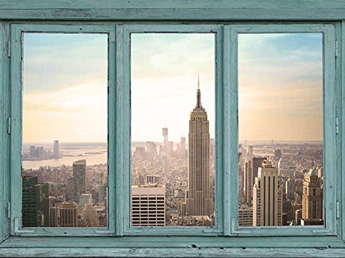 wall26r-architectural-skyline-view-skyscrapers-lit-with-an-early-morning-rising-sun-empire-state-bui