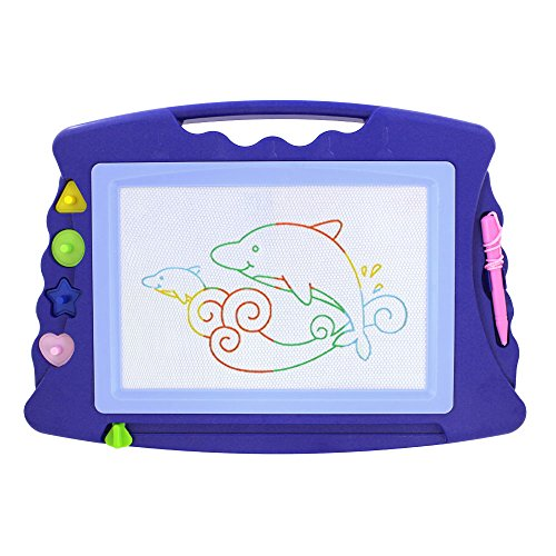 Wishland-Doodle-Sketch-Learning-Toy-Erasable-Colorful-Large-Size-Magnetic-Drawing-Board