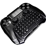 PS4 Bluetooth Keyboard, DOITOP I8 Mini Wireless KeyPad Adapter for DualShock Controller for Sony PS4 PlayStation 4