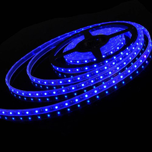 Decorative 16FT 5M Blue 3528 300-SMD LED Strip Rope Light For Outdoor Garden Tree Patio Stair