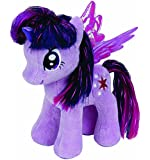 Ty UK My Little Pony Twilight Sparkle Beanie - Peluche (18 cm), diseño de pony