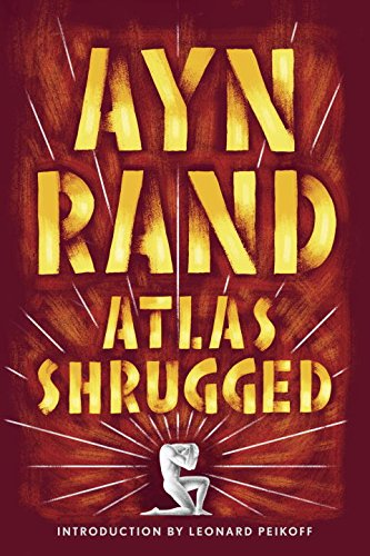 Ayn Rand Book Cover Art : Atlas shrugged reading length