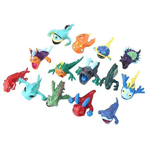ADB-Inc-2016-New-14PCS-Pokemon-Mini-Random-Figures-Toys-Creative-Anime-Action-Figure-Cute-Lots-Slugterra-Slager-Elf