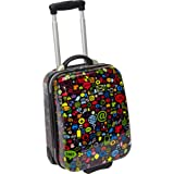 TrendyKid TravelKool Luggage, Chat, Black