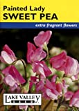 Lake Valley 1220 Sweet Pea Old Spice Painted Lady Heirloom Seed Packet