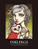 Download INKLINGS colouring book by Tanya Bond: Coloring book for adults & children, featuring 24 single sided fantasy art illustrations by Tanya Bond. In this