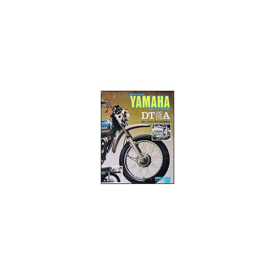 1974 1976 Yamaha DT 100/125/175 Cycleserv Repair Shop Manual Enduro  Motorcycle