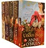Anne O'Brien Anne O'Brien Collection 5 Books Set (Marriage Under Siege, Puritan Bride, The King Concubine, Virgin Widow, Devils Consort)