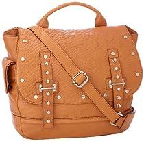 Rebecca Minkoff Logan H464E025 Shoulder Bag,Almond,One Size