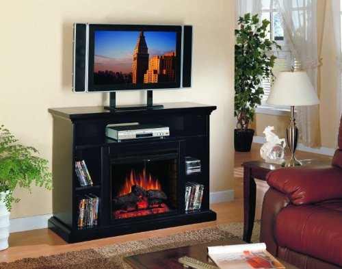 Cheap Classic Flame Classic Flame Beverly Electric Fireplace and TV Stand in Espresso (B0057PO09A)