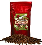 Hawaii Roasters Award Winning 100% Kona Coffee, Whole Bean, Medium Roast, 14-Ounce Bag