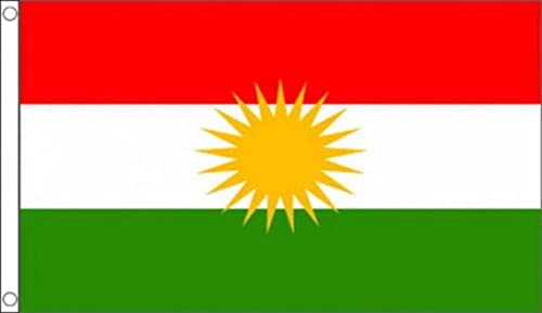 Kurdistan National Flag