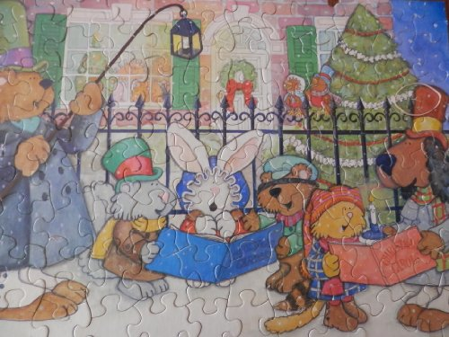 Hallmark Springbok, Sing We Noel, 100 Piece Children's Puzzle - 1