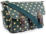 Yufashion brand new Women's Jasper Polka Dot School Bag