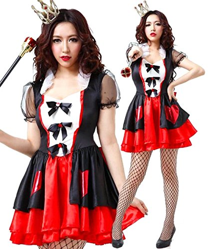 Halloween Santa Christmas Alice in Wonderland Heart Queen Poker Costume