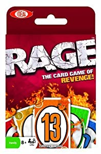 POOF-Slinky 0X8-28280 Ideal Rage Card Game, 110-Card Pack by Ideal TOY (English Manual)