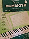 img - for Robbins Mammoth Collection of Famous Piano Music Number 1 book / textbook / text book