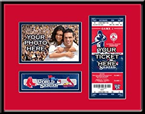 MLB Boston Red Sox 2013 World Series Your 4x6 Photo Ticket Frame by That