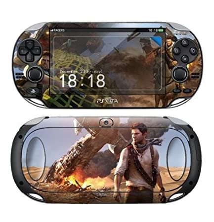 Sony PS Vita UNCHARTED 3 Protective Vinyl Skin Decal Set