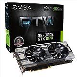 EVGA NVIDIA GeForce GTX 1070FTW für die Win Gaming ACX 3.0Kühlung 8GB GDDR5Speicher, PCI-e 3Grafikkarte-Schwarz