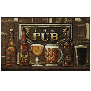 The Pub Multi 30-Inch by 50-Inch Accent Rug
