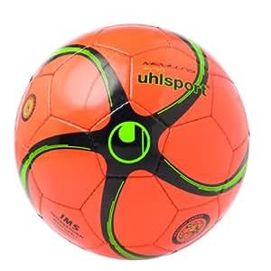 Uhlsport Futsalbälle Medusa Anteo FT, fluo-orange/schwarz/fluogrün, 4, 100141304