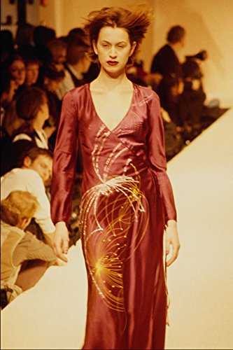 627093-hussein-chalayan-red-silk-dress-a4-photo-poster-print-10x8