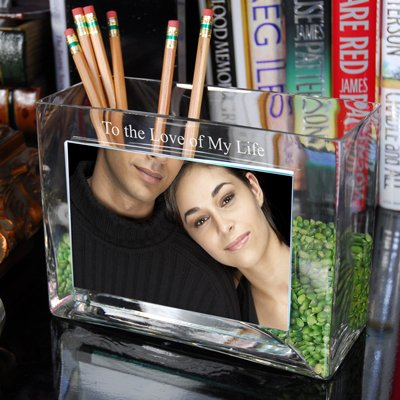 Raebella New York'S Personalized To The Love Of My Life Family Glass Photo Vase Engraved Gift Favor front-656547