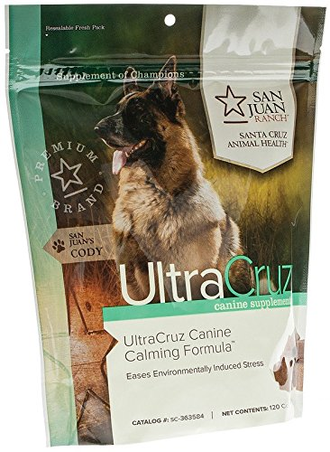 Ultracruz Canine Calming Formula, 120 Count