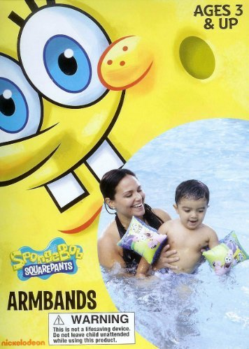 Spongebob Squares & Patrick Star Swimming Pool Armbands - 1