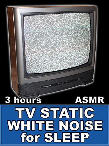 TV Static White Noise for Sleep 3 Hours ASMR