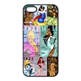 Vogue Princess Design TPU Back Cover For Iphone 5/5s