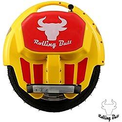 Rolling Bull monociclo elettrico E-Wheel X7YELLOW fino a 30 km raggio di luce a LED