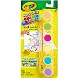 Crayola Color Wonder Gel Paint Palette Refills-Tropical