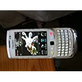 BlackBerry Torch 9800 Unlocked GSM Slider Cell Phone w/ Keyboard + Touchscreen and Optical Trackpad - White