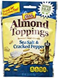 Good Sense Almond Toppings Sea Salt and Cracked Pepper, 3.25 Ounce