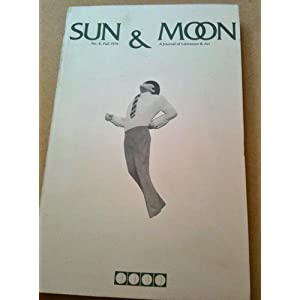 SUN & MOON: A JOURNAL OF LITERATURE AND ART: NUMBER 8, Fall 1979