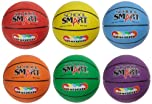 School Smart Gradeballs Rubber Basketballs - Mini - 11 Inch - Set of 6 Colors by School Smart