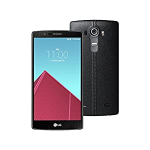 LG G4 H815 5.5-Inch Factory Unlocked Smartphone with Genuine Leather (Leather Black) - International Stock (No Warranty)