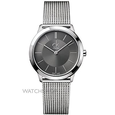 Calvin Klein Minimal Collection Silver Dial Men's Watch - K3M22124