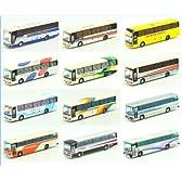 ザ・バスコレクション 第17弾 Nゲージ 鉄道模型 運送 運輸 観光 車 トミーテック(ノーマル12種セット)