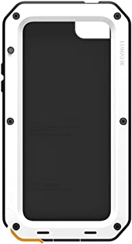 Lunatik Taktik Strike Coque pour iPhone 5 en polymère Blanc/noir ...